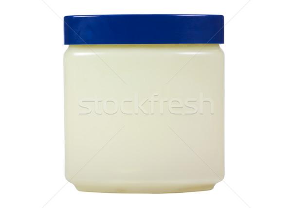 банку красоту кремом синий косметики Сток-фото © imagedb