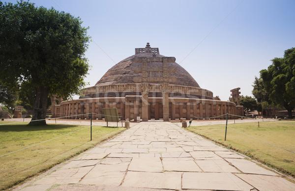 Great Stupa built by Ashoka the Great at Sanchi, Madhya Pradesh, Stock photo © imagedb