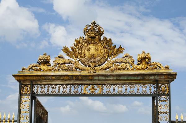 Vue porte versailles Paris France Photo stock © imagedb