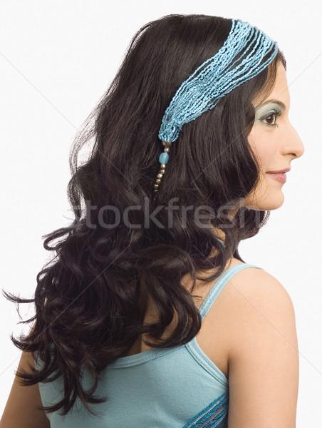 Widok z tyłu kobiet moda model kobieta piękna Zdjęcia stock © imagedb