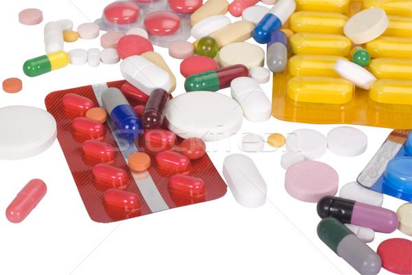 Photo stock: Groupe · pilule · pharmacie · drogue