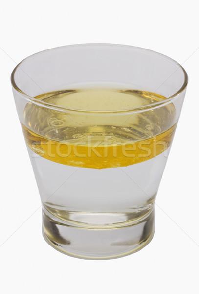 Oleju powierzchnia wody szkła edukacji nauki Zdjęcia stock © imagedb
