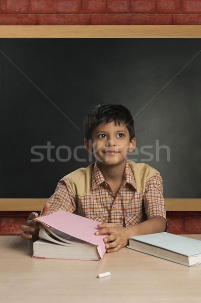 Erkek öğretmen sınıf gün okul Stok fotoğraf © imagedb