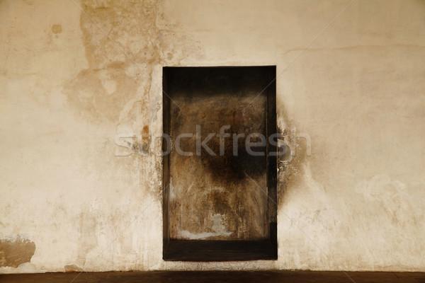 Détails niche mur Inde architecture photographie Photo stock © imagedb