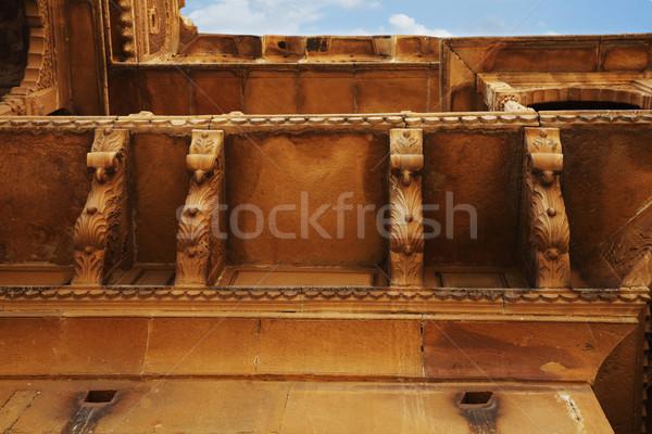 Dettaglio architettonico fort architettura fotografia turismo orizzontale Foto d'archivio © imagedb