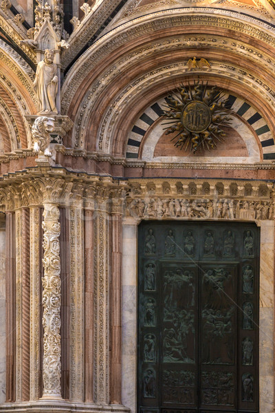Facade of a cathedral Stock photo © imagedb