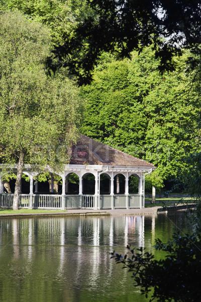 Park yeşil Dublin cumhuriyet İrlanda bahçe Stok fotoğraf © imagedb