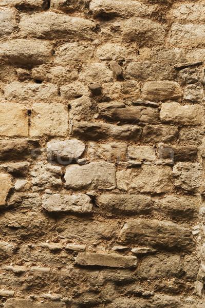 каменной стеной Оксфорд Оксфордшир Англии фотографии Сток-фото © imagedb