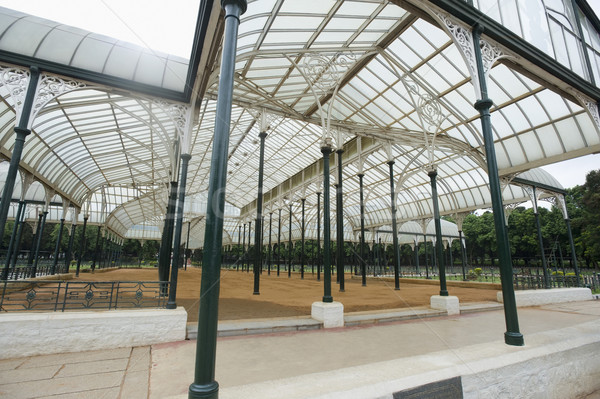 Vidro casa jardim botânico jardim história estrutura Foto stock © imagedb