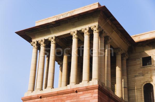 Hoog overheid gebouw new delhi Stockfoto © imagedb
