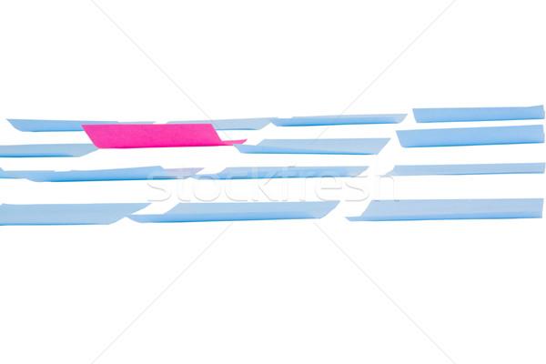 клей отмечает белый карт розовый плана Сток-фото © imagedb