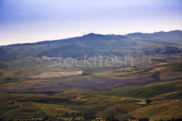High angle view of a landscape Stock photo © imagedb