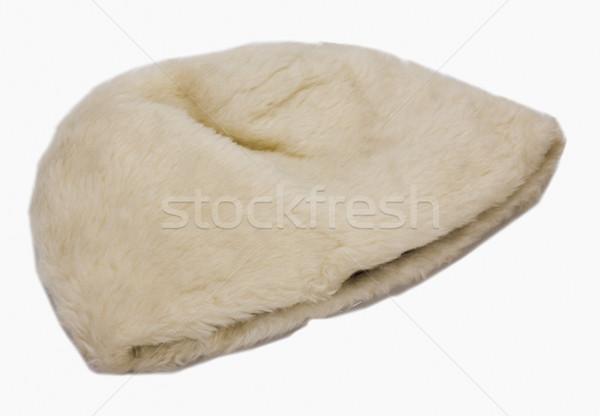 Primer plano piel sombrero moda fotografía horizontal Foto stock © imagedb