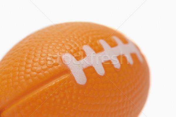 Közelkép amerikai futball alakú kulcstartó sport Stock fotó © imagedb