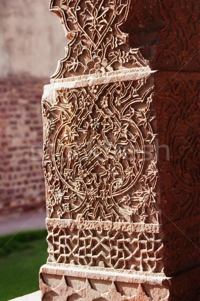 колонки дворец искусства архитектура шаблон Сток-фото © imagedb