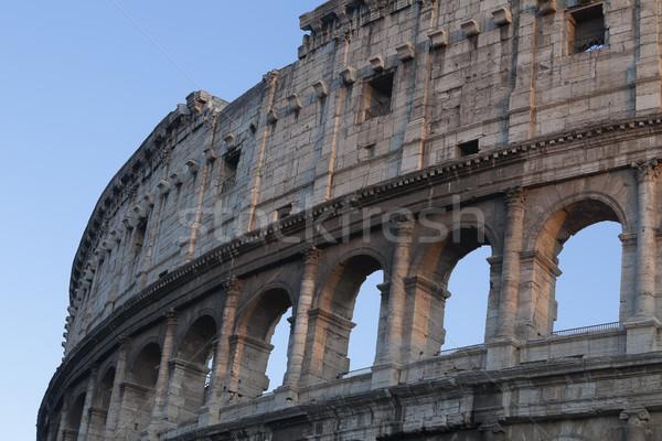 Történelem ív Roma római kint Róma Stock fotó © imagedb
