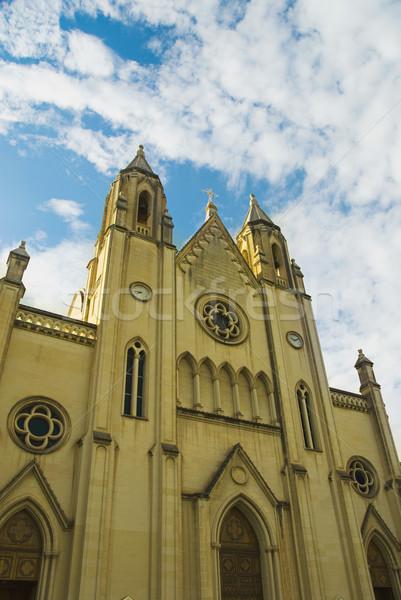 Kerk Malta reizen Europa Stockfoto © imagedb