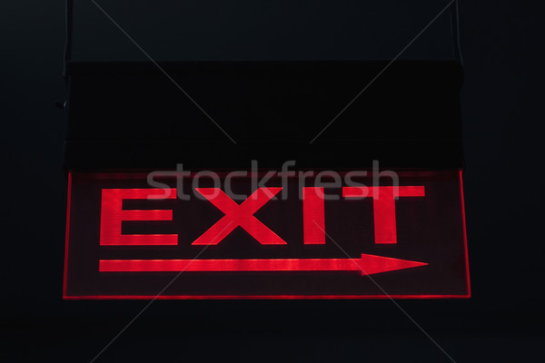 Afslag ondertekenen informatie fotografie tekst richting Stockfoto © imagedb