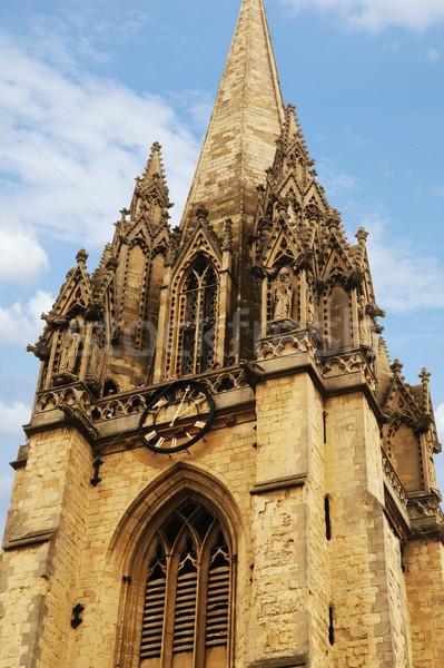 Ver universidade igreja virgem oxford Foto stock © imagedb