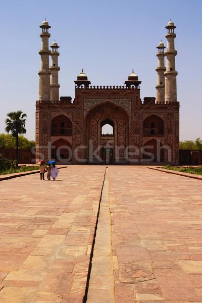 Stockfoto: Mausoleum · graf · groot · geschiedenis · poort