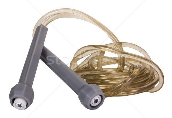 Közelkép ugrókötél sport játszik felszerlés színes kép Stock fotó © imagedb