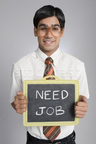 человека портрет связи работу галстук Сток-фото © imagedb