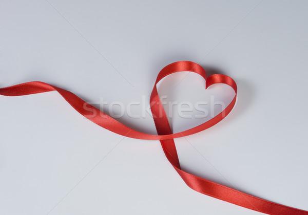 Primer plano corazón cinta negocios oficina Foto stock © imagedb
