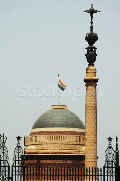 мнение Правительство здании Нью-Дели Индия Сток-фото © imagedb