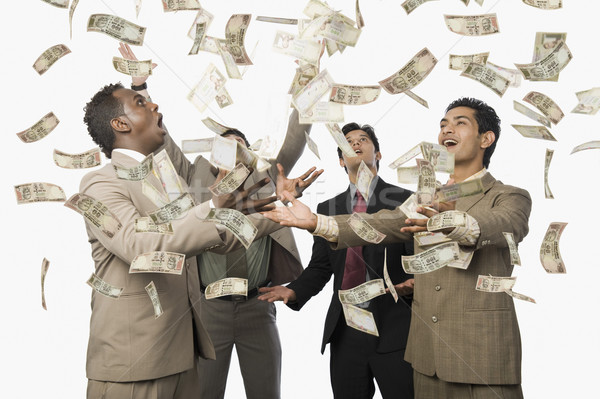 Cadere quattro imprenditori business imprenditore Foto d'archivio © imagedb