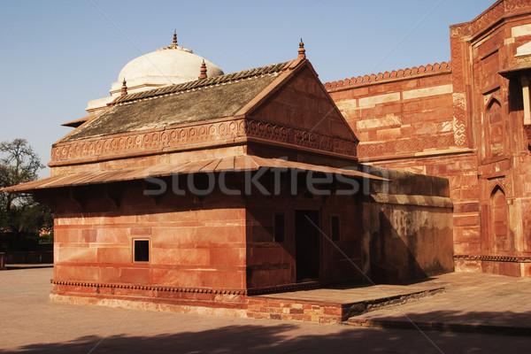 Dettaglio architettonico palazzo fotografia antica dettaglio immagine a colori Foto d'archivio © imagedb
