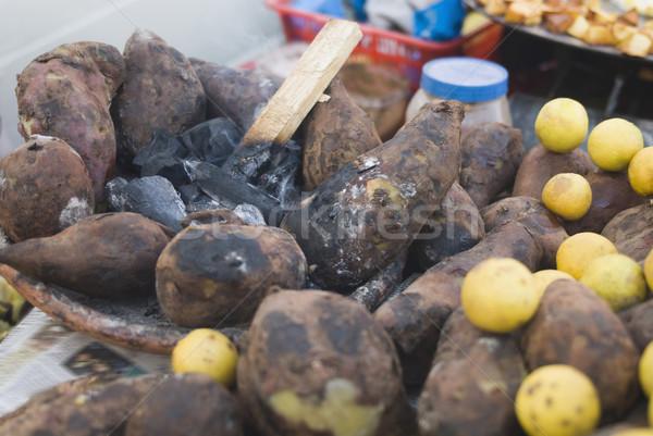 クローズアップ 甘い レモン ニューデリー インド ストックフォト © imagedb