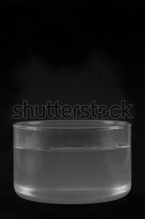 Experiment tonen condensatie stoom water wetenschap Stockfoto © imagedb
