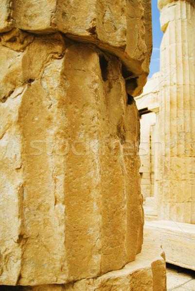 Antigo templo nike Acrópole Atenas Grécia Foto stock © imagedb