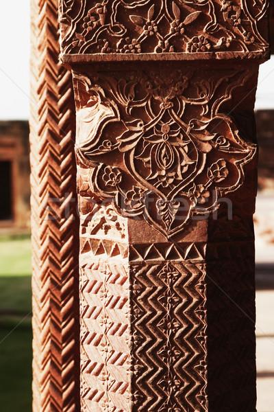 Kolom paleis kunst architectuur patroon Stockfoto © imagedb