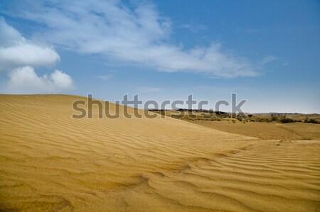 песок небе природы пейзаж пустыне облаке Сток-фото © imagedb