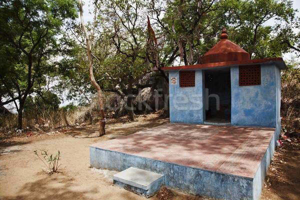 Tapınak balayı nokta bölge ağaç kaya Stok fotoğraf © imagedb