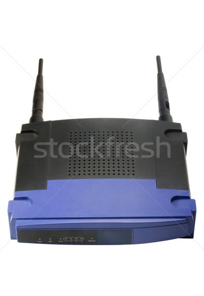 Sem fio modem luz tecnologia antena Foto stock © imagedb
