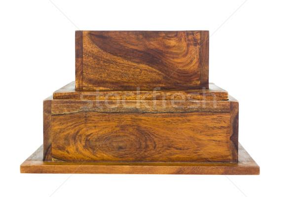 Dwa ramki drewna ramki Zdjęcia stock © imagedb