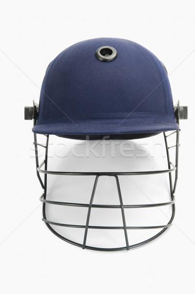 Cricket helm sport bescherming fotografie Stockfoto © imagedb