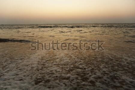 панорамный мнение морем сумерки Гоа Индия Сток-фото © imagedb