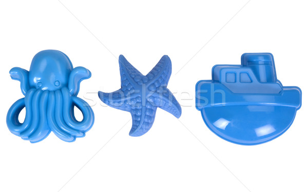 игрушками игрушку шаблон пластиковых Starfish Сток-фото © imagedb