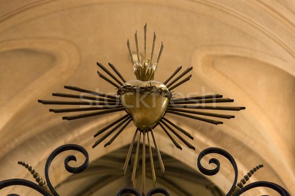 Interiors of a church Stock photo © imagedb