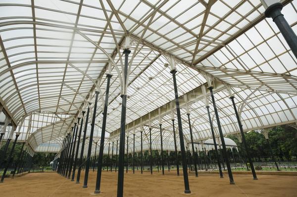 Vetro casa giardino botanico giardino architettura struttura Foto d'archivio © imagedb