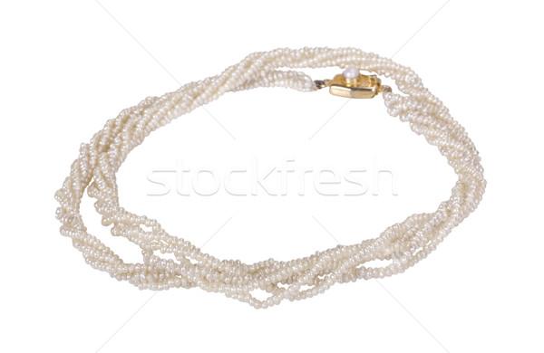 Pearl ожерелье Jewel гламур современных Сток-фото © imagedb