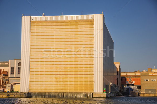 Building at the waterfront Stock photo © imagedb