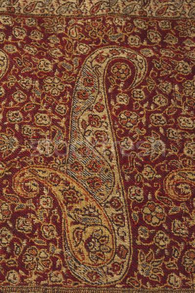 Patroon weefsel kunst tapijt Stockfoto © imagedb