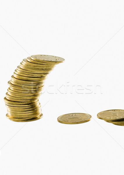 Altın madeni iş grup finanse dengelemek Stok fotoğraf © imagedb