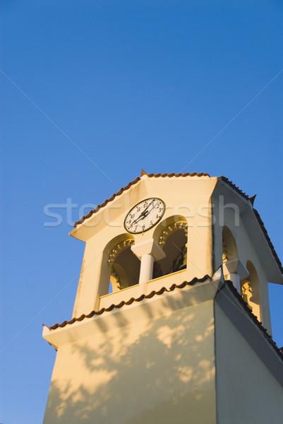Alto sezione view clock torre Atene Foto d'archivio © imagedb