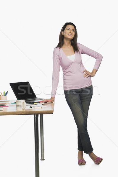 Kadın moda tasarımcı gün ofis Stok fotoğraf © imagedb