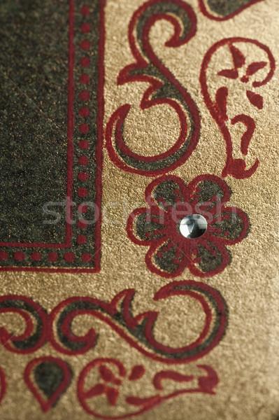 Borduurwerk weefsel kunst tapijt fotografie Stockfoto © imagedb